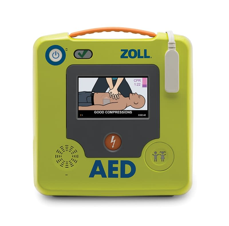 ZOLL AED 3 frontal gerade