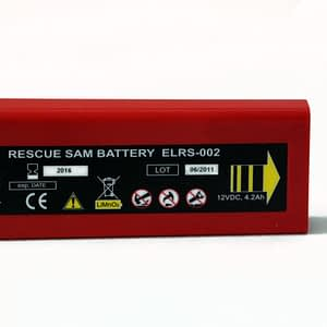 Rescue SAM AED Batterie