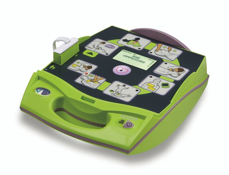 ZOLL AED Plus offen